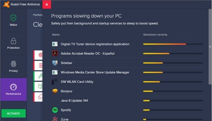 Digital TV Tuner Registration Application