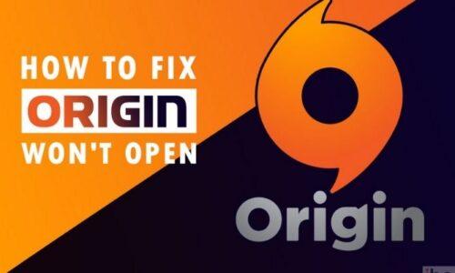 origin won't open